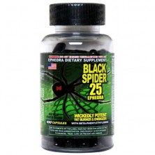 Cloma Pharma Black Spider 25 ephedra 100 caps