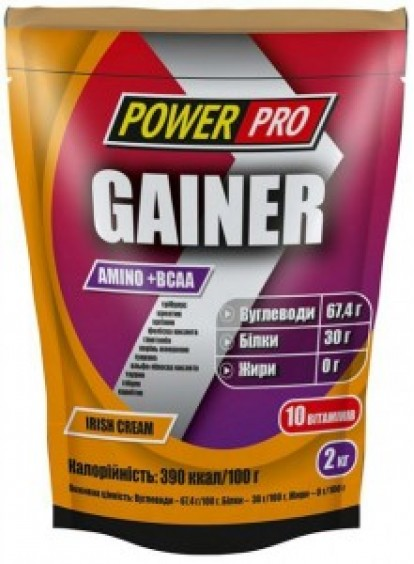 Гейнеры Power Pro Gainer (2Kg) фото