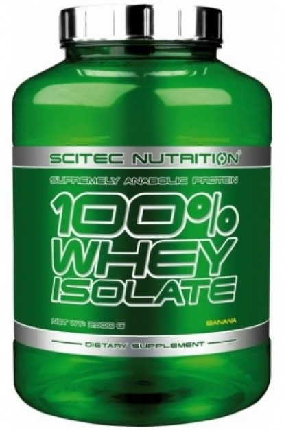 Протеины Купить Scitec Nutrition 100% Whey Isolate (2kg) фото