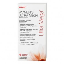 GNC Mega Womens Ultra (180caps)
