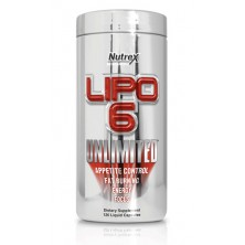 Nutrex Lipo 6 UNLIMITED (120caps)