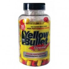 Hard Rock Yellow Bullet Extreme (100caps)