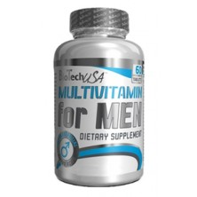 Biotech Multivitamin For Men (60 caps)