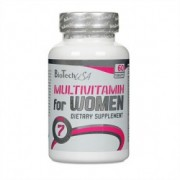 Biotech Multivitamin For Women (60caps)