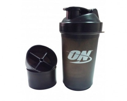 Аксессуары Optimum Nutrition Shaker Smart Black (600ml) фото