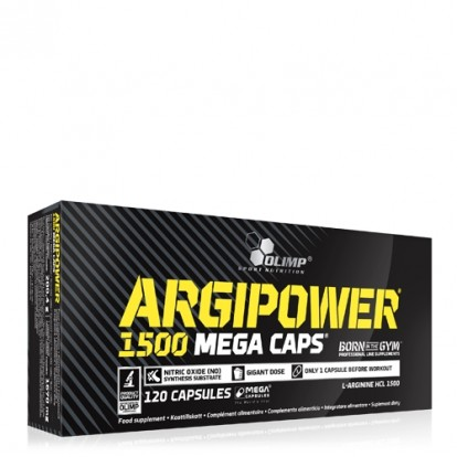 Аминокислоты ArgiPower 1500 Mega Caps 120 caps Olimp фото