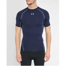 Under Armour Blue Navy Heatgear Compression T-shirt
