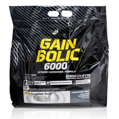 Гейнеры Gain Bolic 6000 bag 6800 g Olimp  фото