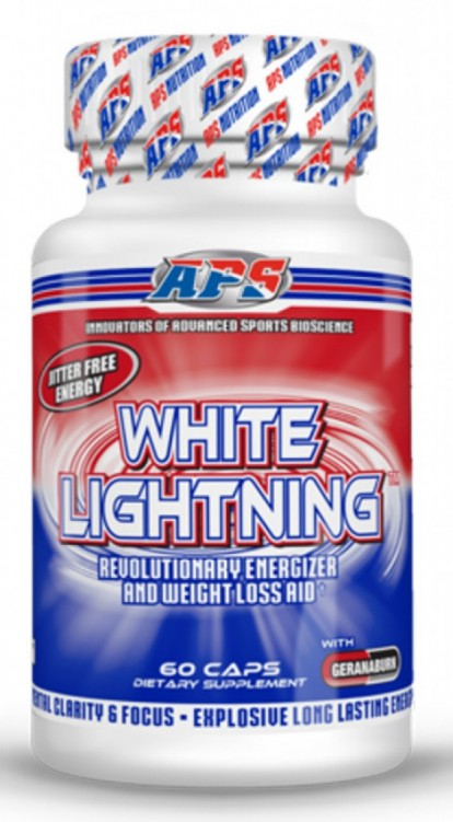 Жиросжигатели APS White Lightning DMAA 60ct фото