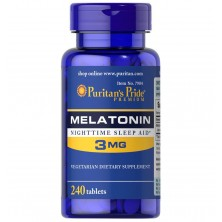 Puritan's Pride Melatonin 3mg 240tab
