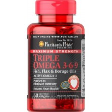 Puritan's Pride Triple Omega 3-6-9 (60softgels)