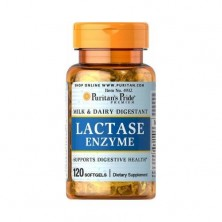 Puritan's Pride Lactase Enzyme 125 mg, 120 Softgels