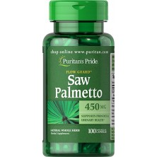 Puritan's Pride Saw Palmetto 450mg, 100ct