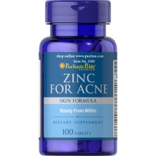 Puritan's Pride Zinc for Acne 100tab