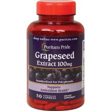 Puritan's Pride Grapeseed Extract 100 mg, 50 caps