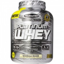 MuscleTech Platinum 100% Whey Protein 5lb (2,27kg)