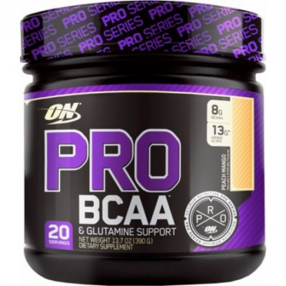 БЦАА (BCAA)  Optimum-Nutrition Pro BCAA 390 g фото