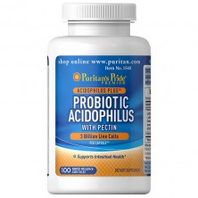 Puritan's Pride Probiotic Acidophilus with Pectin 100 caps