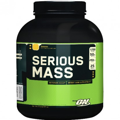 Гейнеры Serious Mass 2.7 kg Optimum Nutrition  в Украине фото