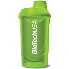 BioTech Shaker Wave Grass Green 600 ml
