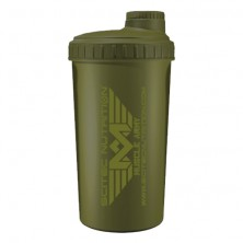 Scitec Nutrition Shaker Scitec Muscle Army Green 700 ml