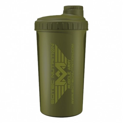 Аксессуары Scitec Nutrition Shaker Scitec Muscle Army Green 700 ml фото