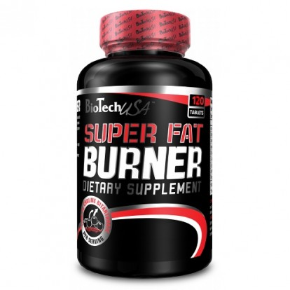 Жиросжигатели BioTech Super Fat Burner 120 tab в Украине фото