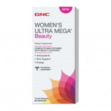 GNC Womens Ultra Mega Beauty 60 caps