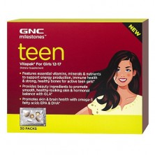 GNC Teen Vitapack Girls 30 megapak