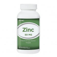 GNC Zinc 50 mg 250 caps