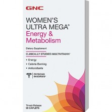 GNC Womens Ultra Mega Energy Metabolism 90 caps