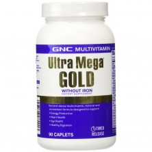 GNC Ultra Mega Gold No Iron 90 tab