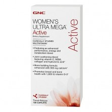 GNC Womens Ultra Mega Active 180 caps