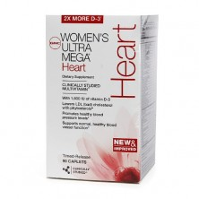 GNC Womens Ultra Mega Heart 90 caps