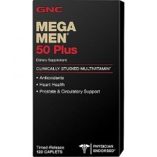 GNC Mega Men 50 Plus 120 caps