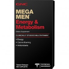 GNC Mega Men Energy & Metabolism 180 caps