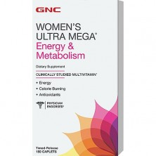 GNC Womens Ultra Mega Energy Metabolism 180 caps