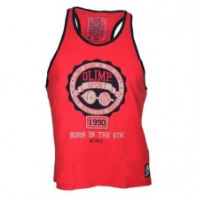 Olimp Майка мужская Tank Top BLOODY KNUCKLES  Red