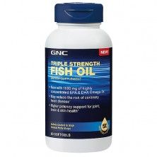 GNC Triple Strength Fish Oil 60 caps