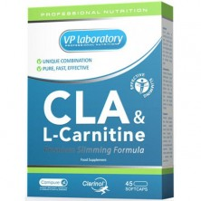 VP Lab CLA & L-Carnitine 45 caps