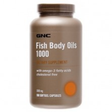 GNC Fish Body Oils 180 caps