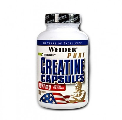Креатины/creatine Weider Pure Creatine Capsules 100 caps фото