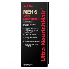 GNC Ultra Nourish Hair Mens 120 tab