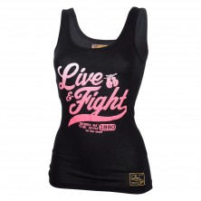 Olimp Майка женская Tank Top ORIGINAL 90 Black