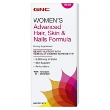 GNC Advanced Hair Skin & Nails 60 tab