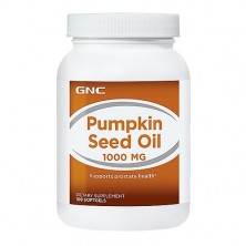 GNC Pumpkin Seed Oil 1000 100 caps