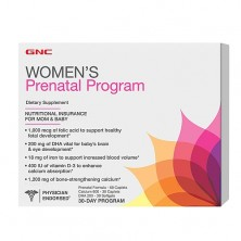 GNC Prenatal Program 30 megapak