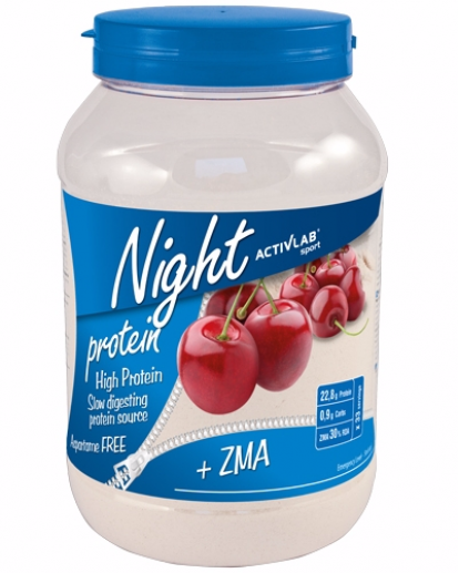Протеины ActivLab Night Protein ZMA 1 kg фото
