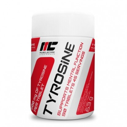 Аминокислоты Muscle Care Tyrosine 90 tab  фото