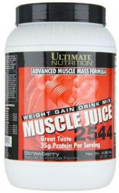 Гейнеры Ultimate-Nutrition Muscle Juice 2544  2200g фото